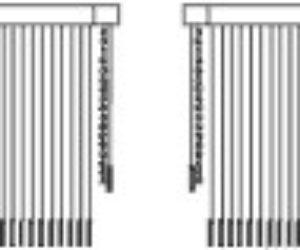 Управление вертикальными жалюзи