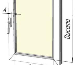 Снятие размеров для рулонных штор мини (mini)