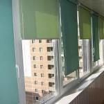 Рулонные жалюзи на балкон